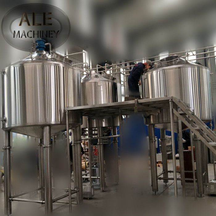 Large Brewhouse System Bottom Agitation System (With Images