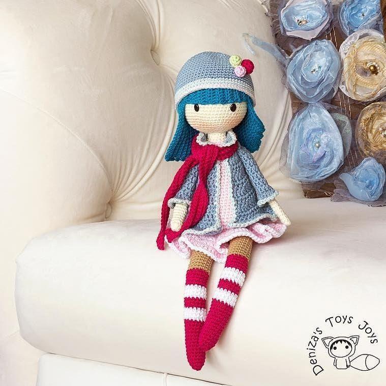 Amazon.com: Huggy Izzy Amigurumi Crochet Pattern (Big Huggy Dolls ...   759x759