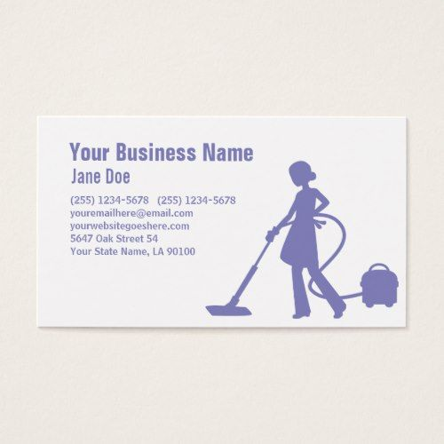 Pro House Cleaning Service Business Card Zazzle Com House Cleaning Services Clean House Cleaning Business Cards