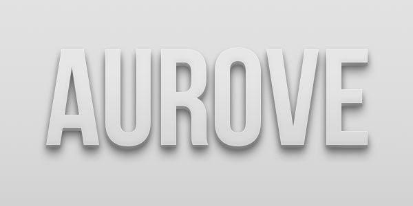 Free Photoshop 3D text style