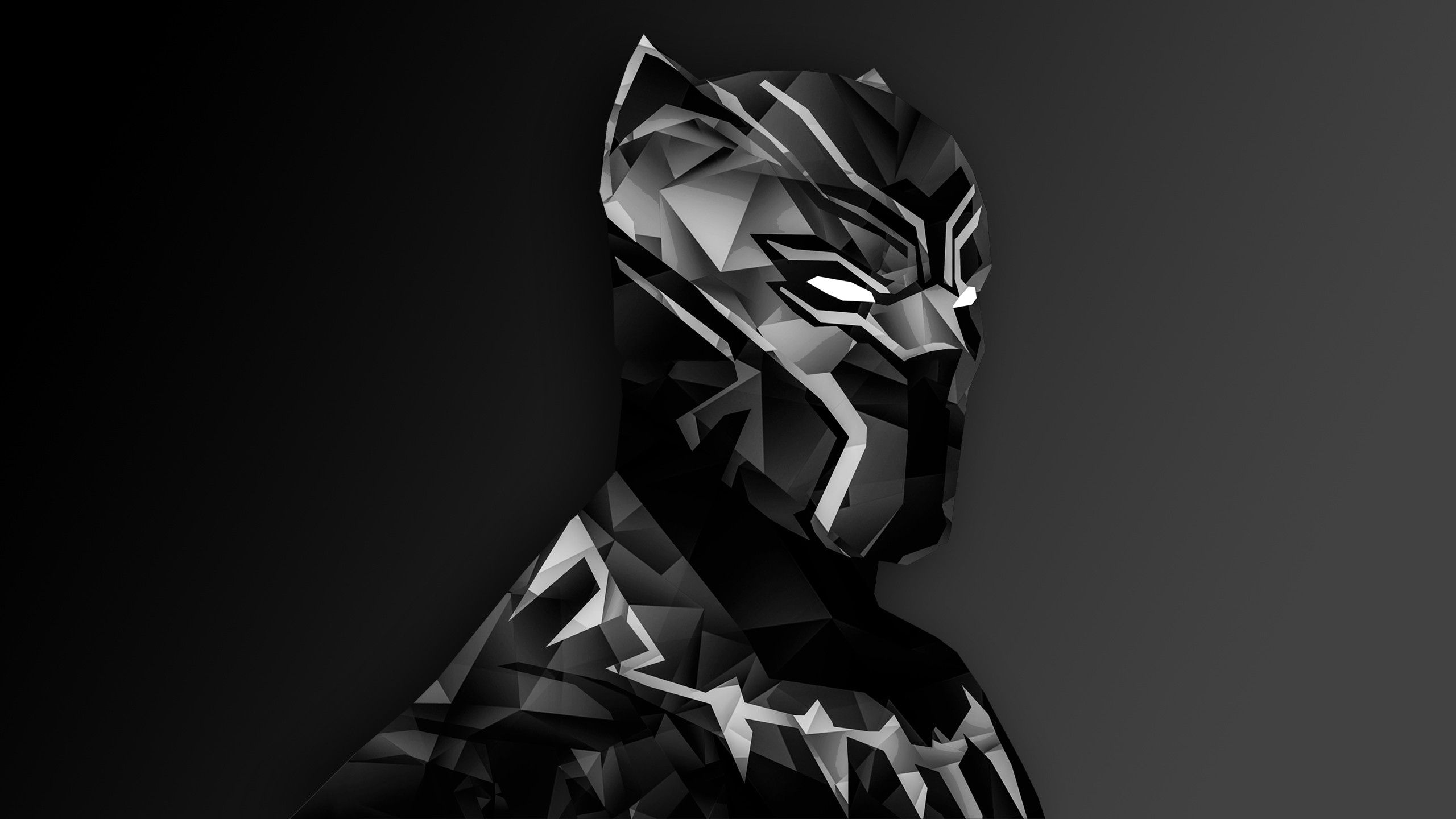 Black Panther Marvel Hd Wallpapers Backgrounds Wallpaper Hd