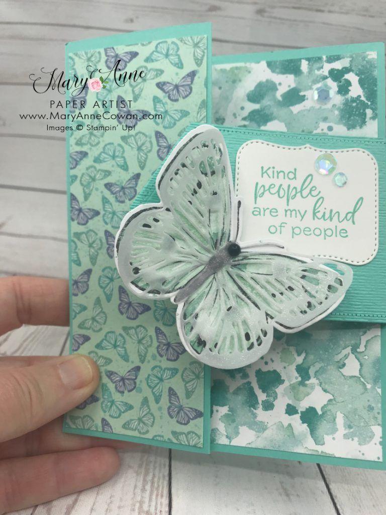 Butterfly Bouquet Meets Fun Fold Friday! - MaryAnn