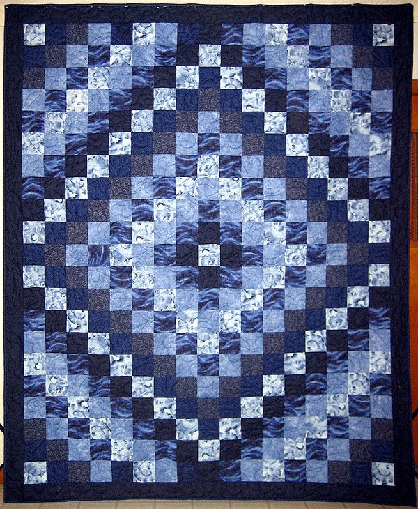 Trip Around The World I Love Blue Quilts I Realize It