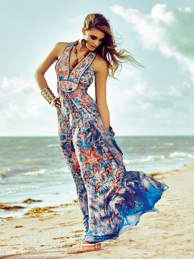 Oriental Style: Sundowner: Fernwehmode in wunderbaren Sommer-Mustern ...