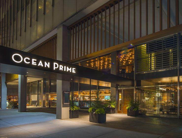 Ocean Prime - Entrance (Image Credit: Ocean Prime)
