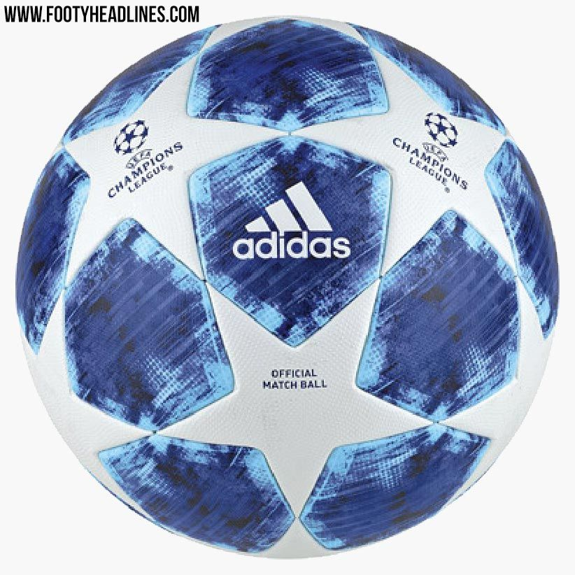 The new Adidas 2018-19 UEFA Champions League ball boasts an all-new look. 95b4394b50075