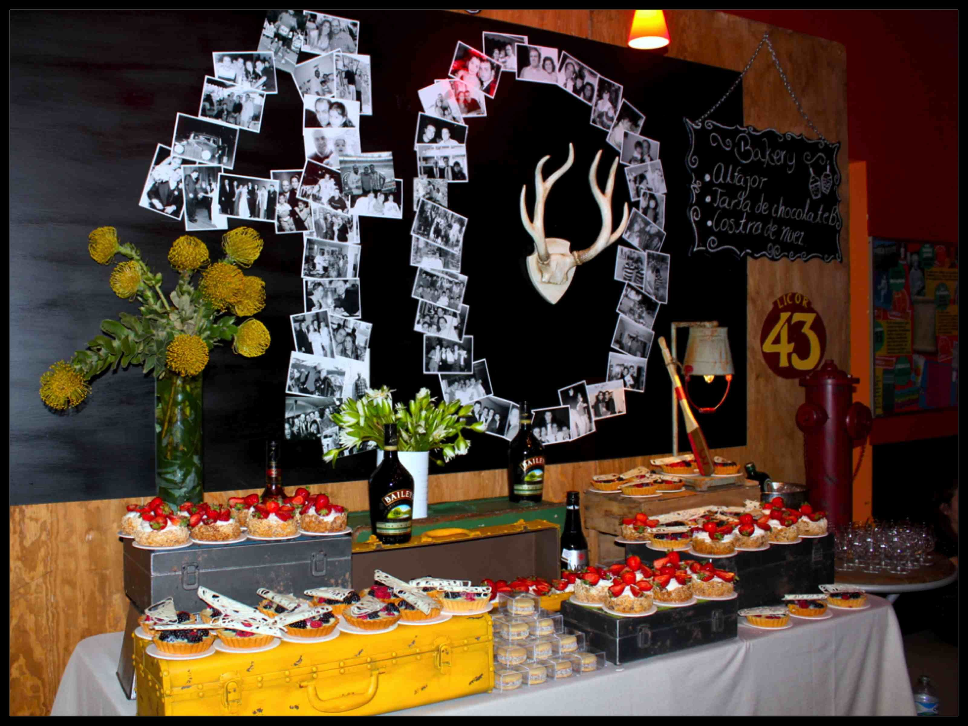 Party Ideas For Forty Years Old Decorations 40