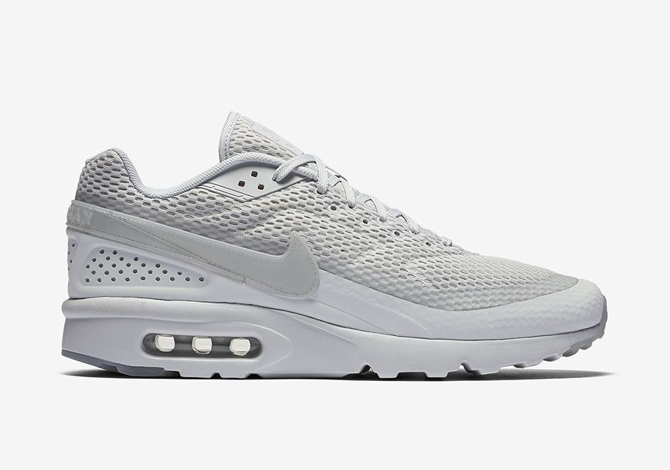 lowest price 36556 426f4 Official Images Of The Nike Air Max BW Ultra Breathe Pure Platinum