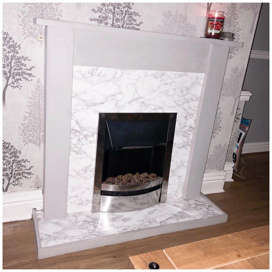 My Little Diy Fireplace Project Dc Fix 5 Lovewilko