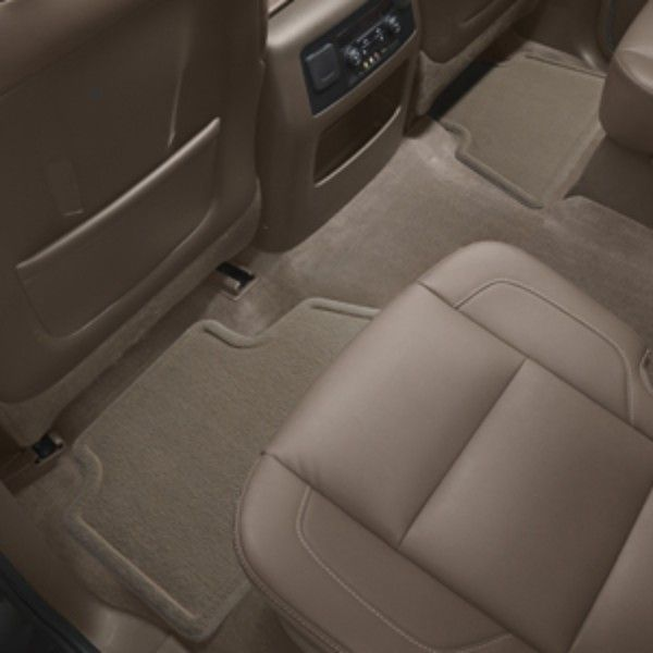 Tahoe Floor Mats Rear Premium Carpet, Dune: Don't let mud, water, and road salt stain your Tahoe's floors, use these floor mats and stay clean!