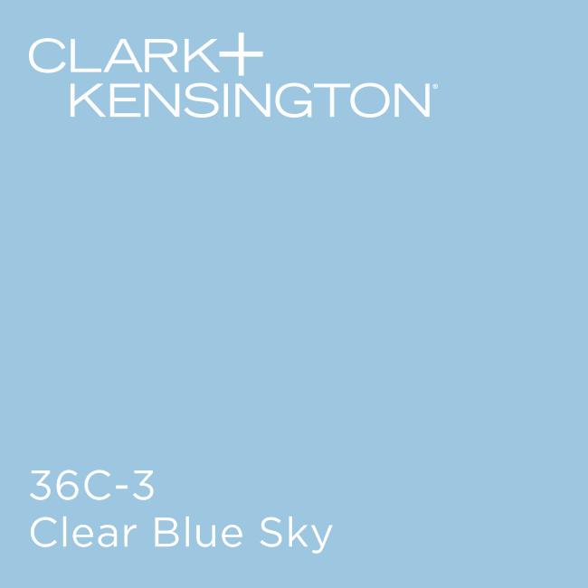 Clear Blue Sky By Clark Kensington