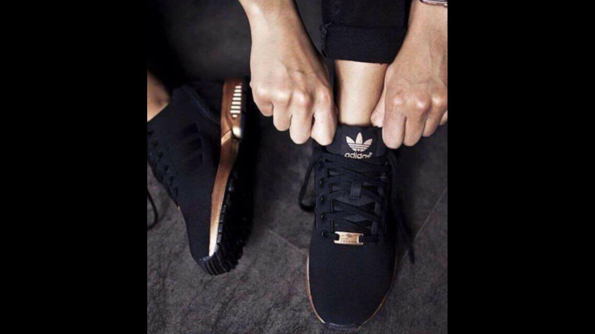 Adidas 2016 | Black adidas shoes, Black running shoes, Adidas women