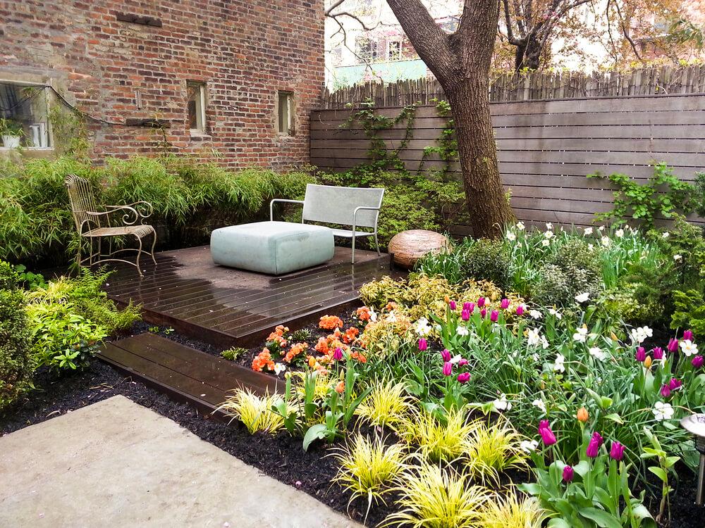 Brooklyn Garden From Weeds To Wonderful With Groundworks Brownstoner In 2020 Backyard Farmer Backyard Backyard Landscaping