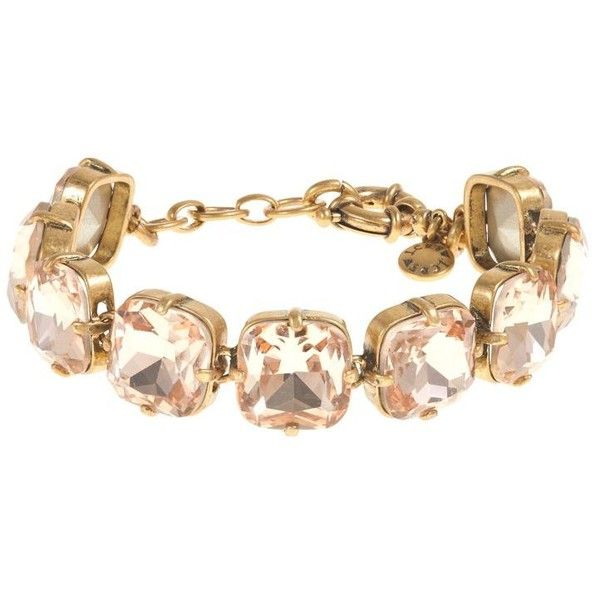 J.Crew Faceted cone bracelet found on Polyvore