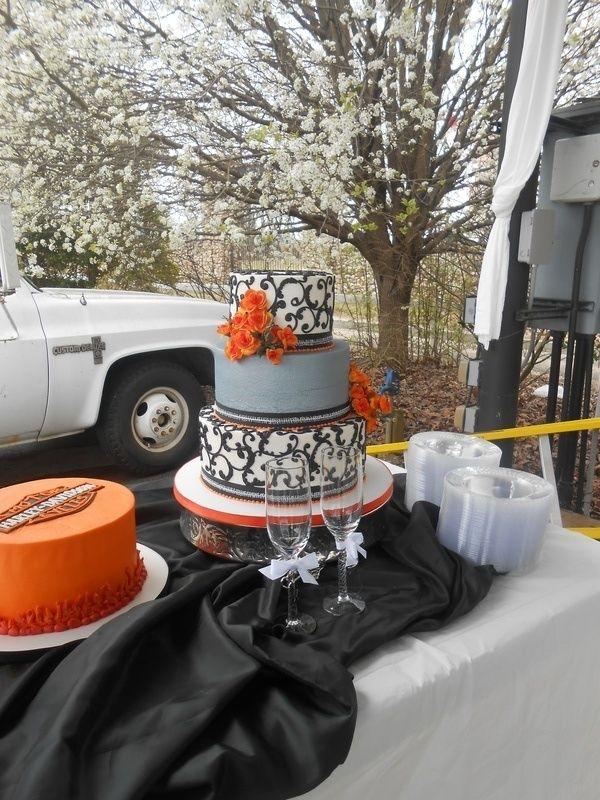 Harley Davidson Wedding Cakes   ... , Cleveland, Dayton Wedding ...
