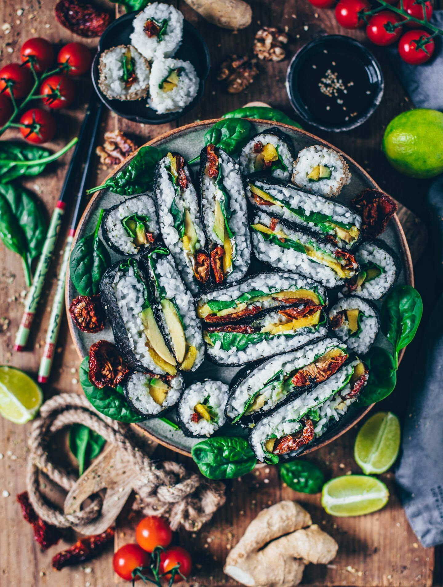 Veganes Sushi selber machen – Bianca Zapatka | Recipes