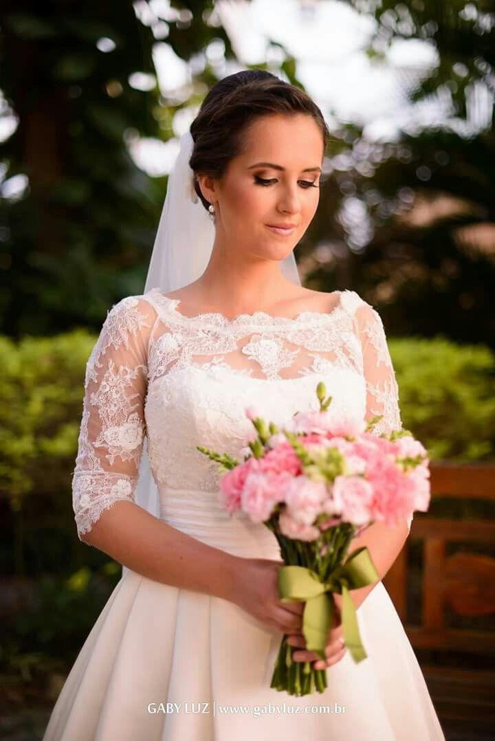 O encanto e a magia de uma noiva. Foto: Gaby Luz Fotografia