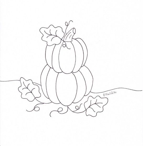 Heres Another Coloring Page Based On Our October Applique Blocks You Can Find Your Copy