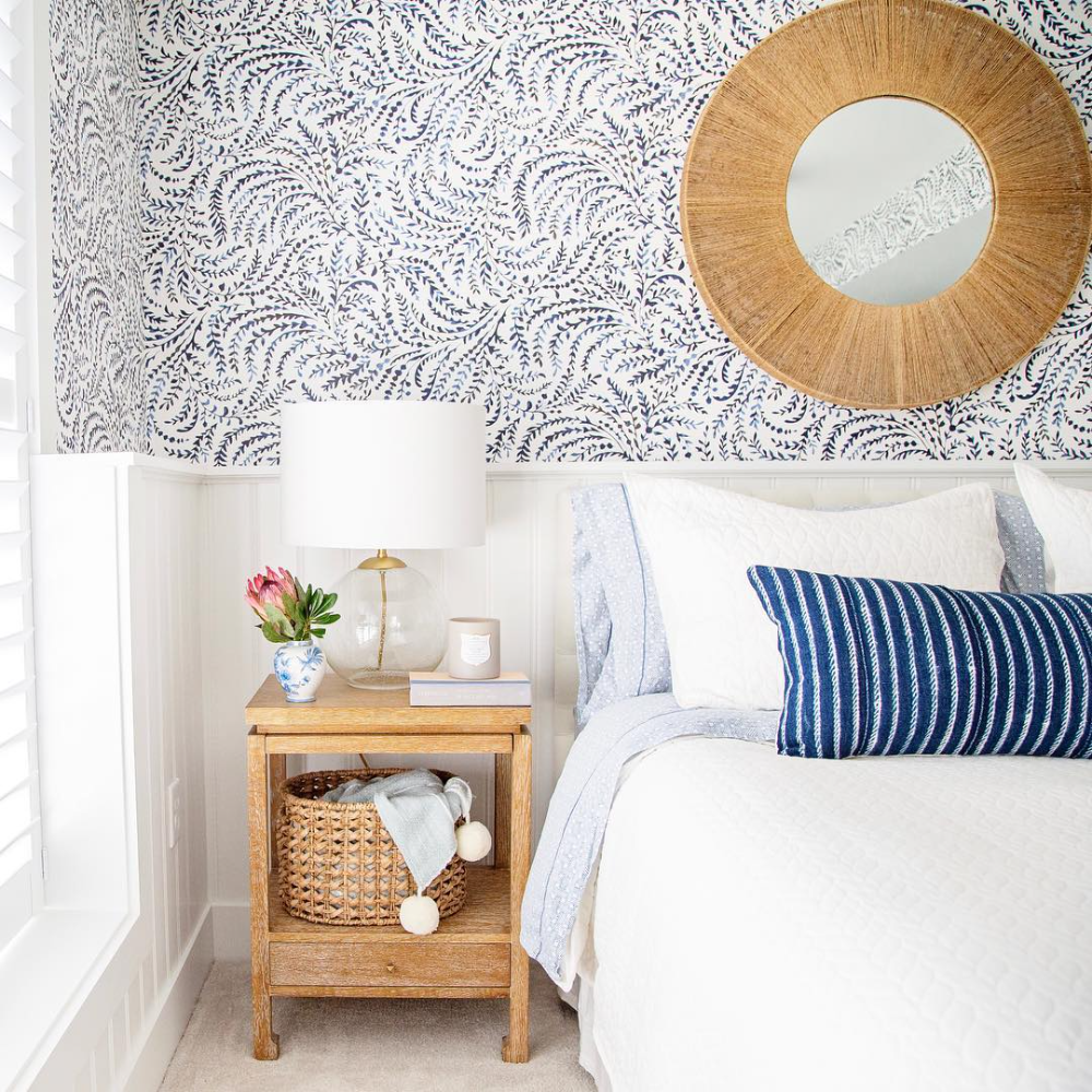 Priano Wallpaper In 2021 Bedroom Night Stands Bedroom Decor Decor