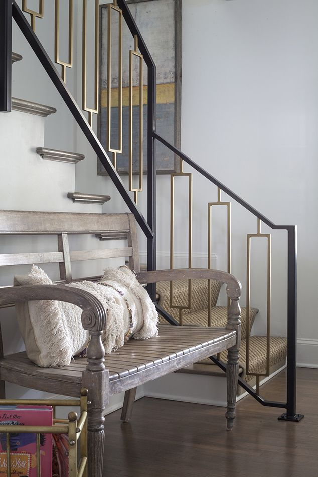 Pin On Lucy And Company Foyer   Modern Metal Stair Spindles