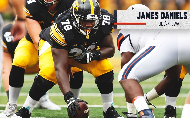 Bears Pick James Daniels In Second Round Iowa Hawkeye Football Iowa Iowa Hawkeyes