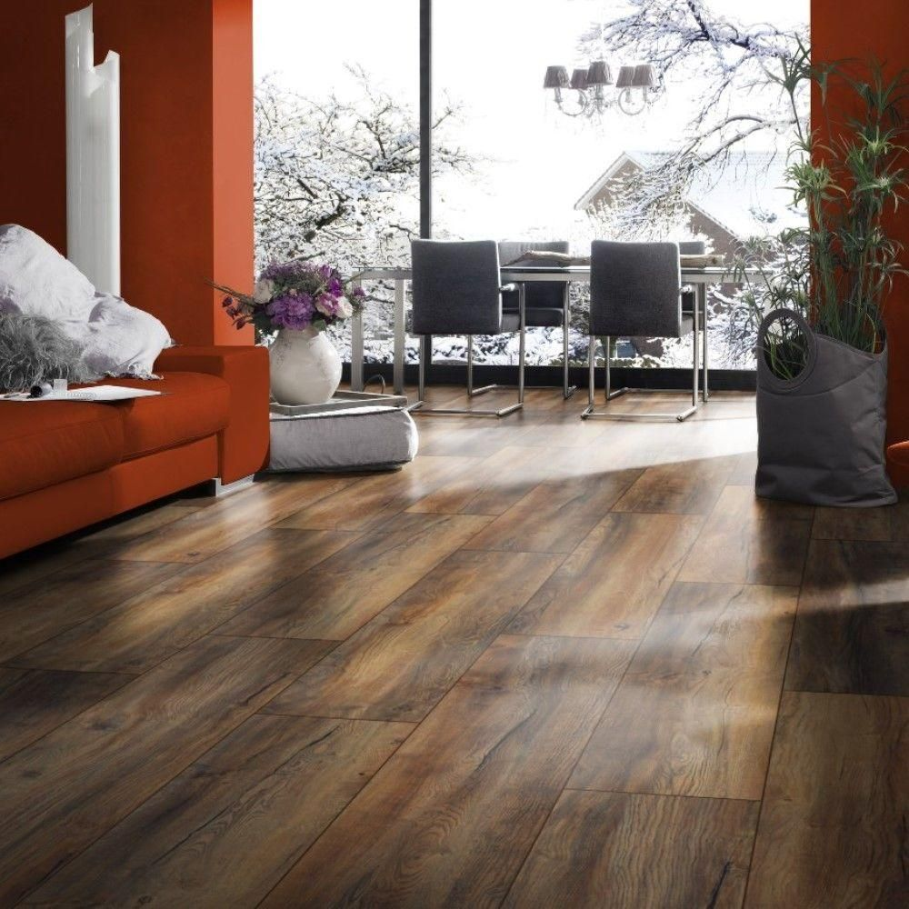 Home Decorators Collection Harbour Oak 12 Mm Thick X 7 7 16 In Wide X 54 1 8 In Length