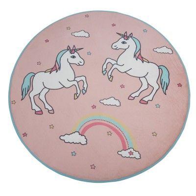 Tapis De Salon Et Chambre Design Imprimé Ou Coloré Unicorn