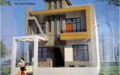 Modern House Plans Book Pdf With Modern Zen Two Storey House Design With House Paint Colours Exteri In 2020 Front Elevation Designs House Front Wall Design House Front