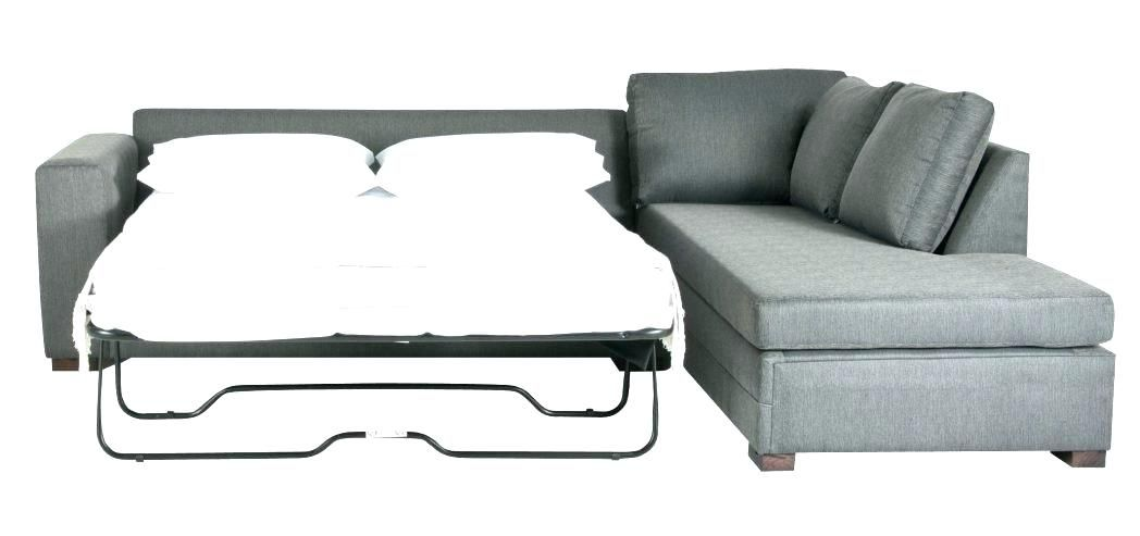 L Shaped Sleeper Couch Sectional Sofa Chaise Regarding Prepare 8