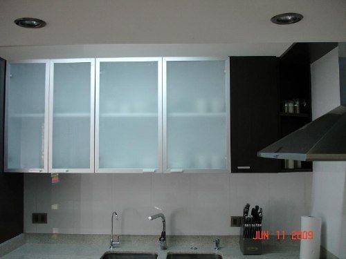Puertas de gabinetes arquitectura pinterest alacena for Puertas de cocina de aluminio