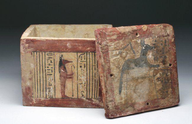 Incredible Ancient Egyptian Wood Box