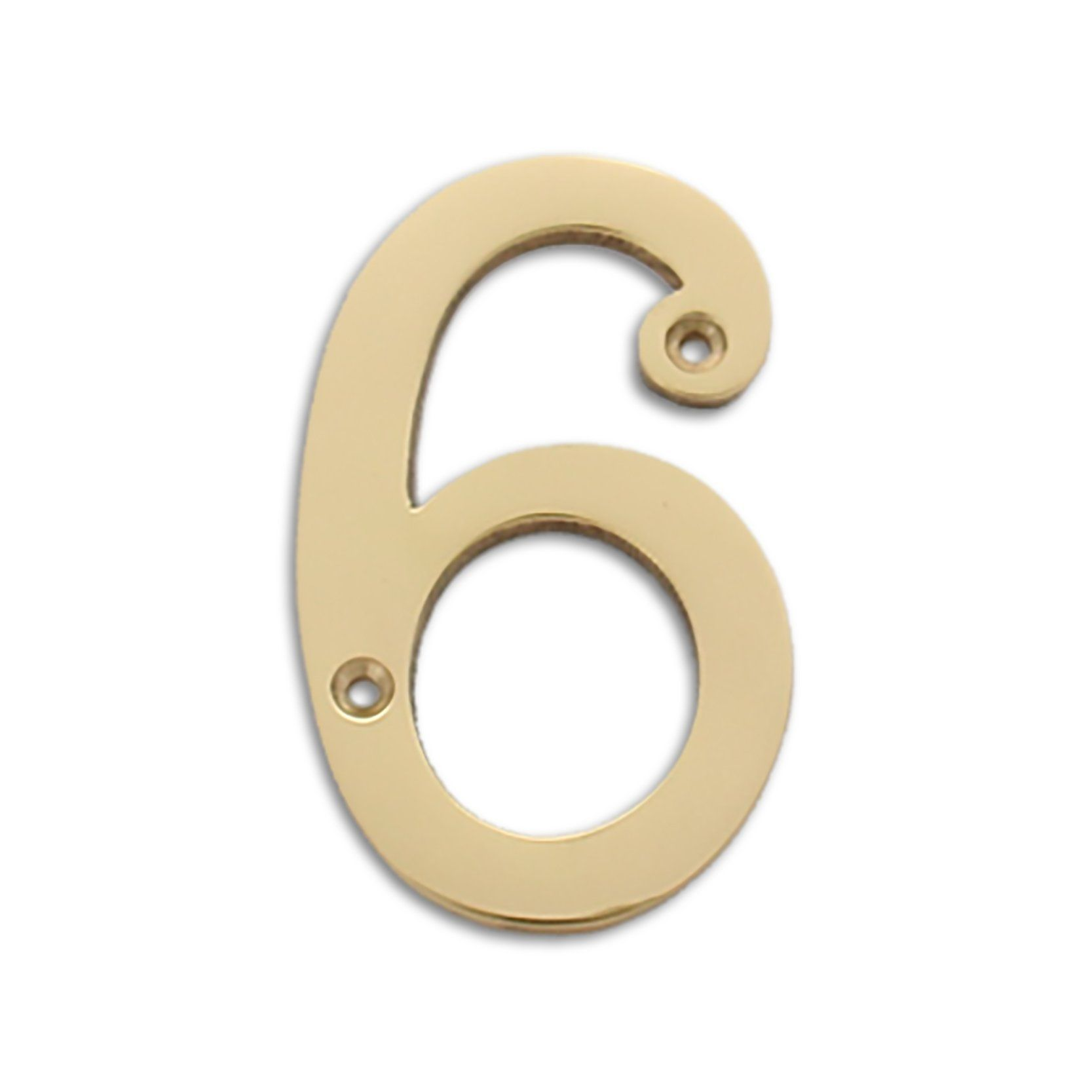 Modern 4 Inch Solid Brass House Numbers 4 House Number House Numbers Tile House Numbers