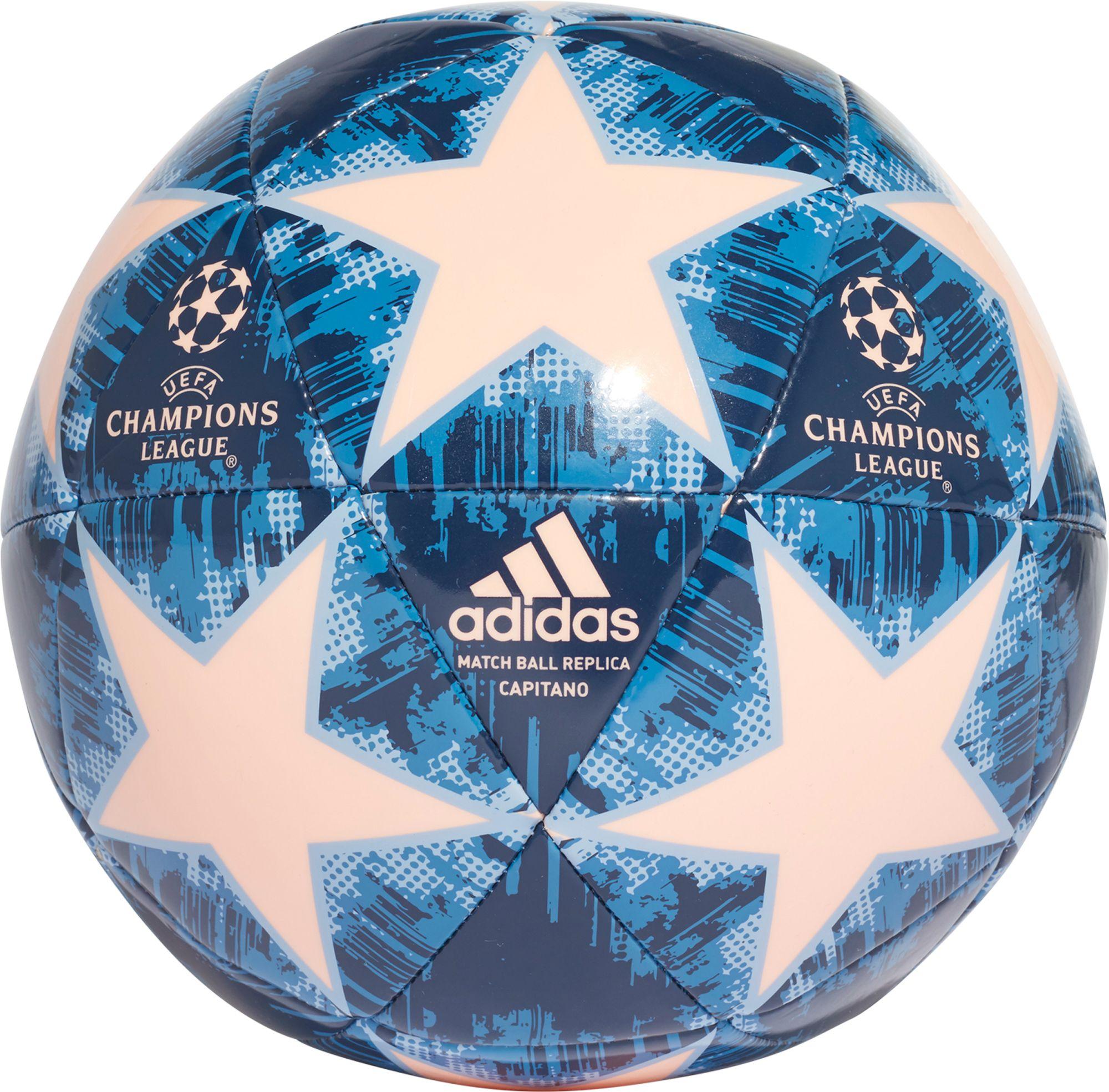 Adidas Uefa Champions League Finale Capitano Soccer Ball Orange Champions League Soccer Ball Soccer