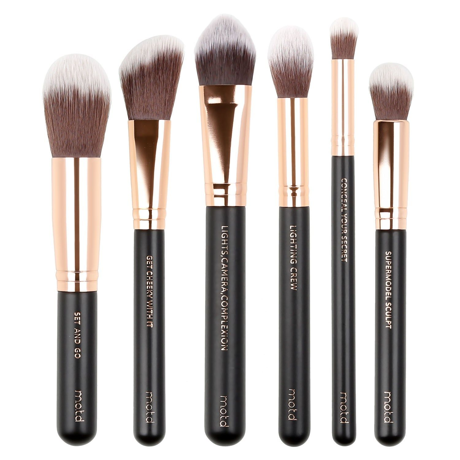 Pretty Perfect Essential Face Makeup Brush Set MOTD