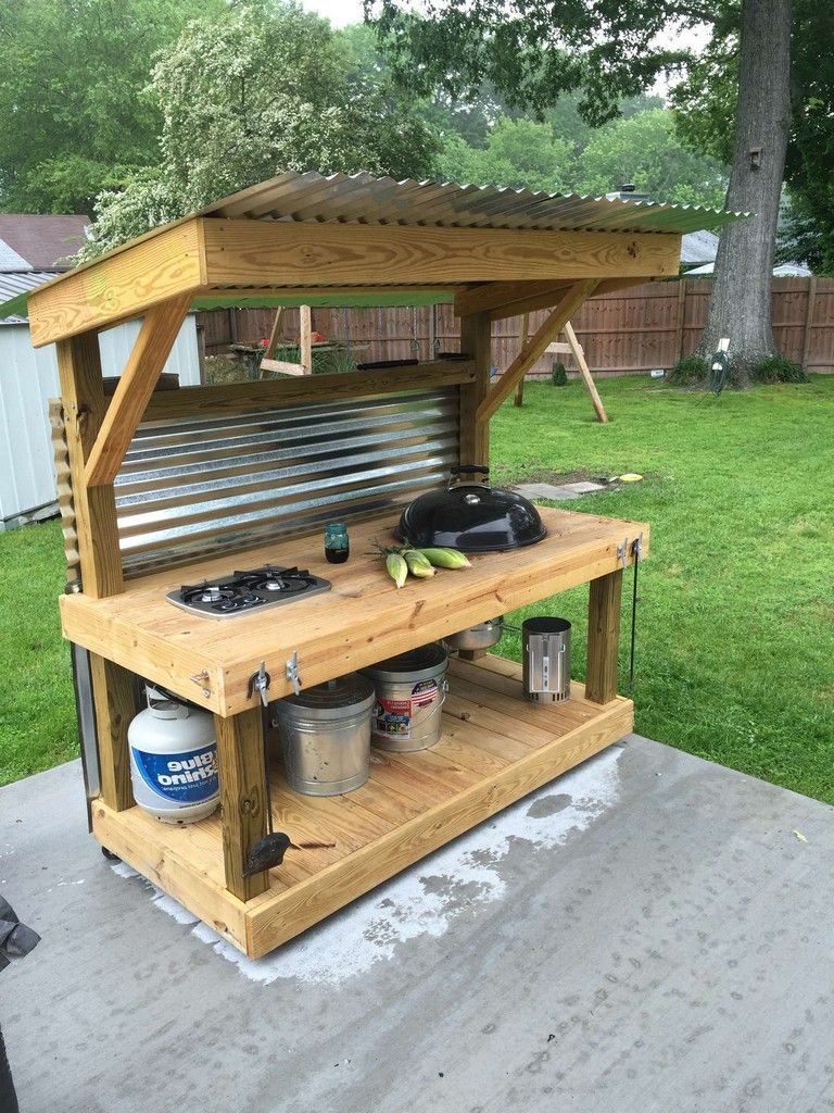 65 Unbelievable Diy Outdoor Bar Ideas Page 75 Of 76 Simple Outdoor Kitchen Outdoor Kitchen Kits Modular Outdoor Kitchens