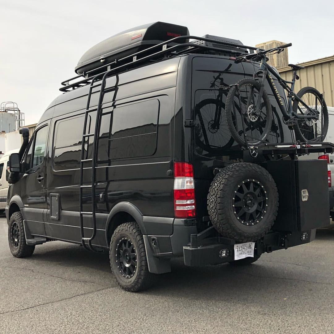 Black Friday Sportsmobile Vanlife Sportsmobile 4x4 Camper Van Sportsmobile Van