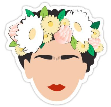 Frida Kahlo 2 0 Sticker Cute Stickers Tumblr Stickers Cool Stickers