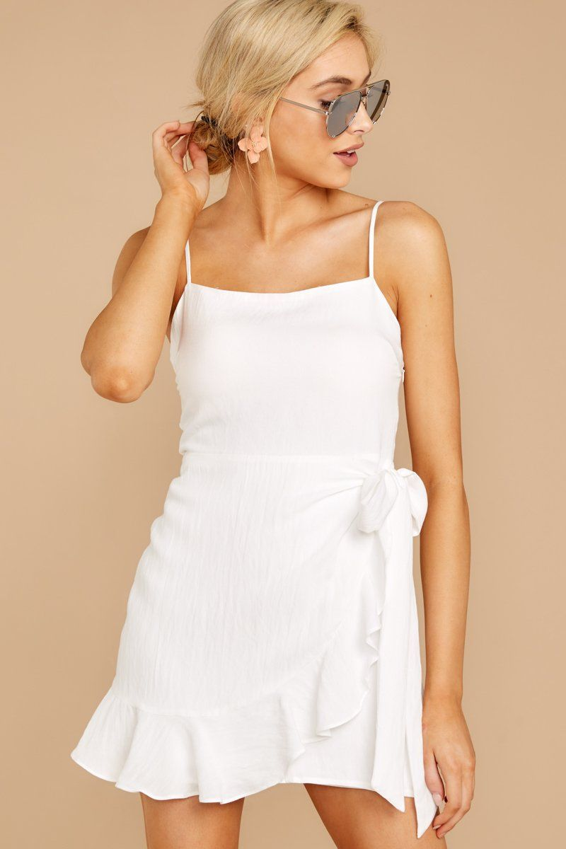 Dazzling White Wrap Dress Short Ruffled Sun Dress Dress 46 00 Red Dress Boutique Wrap Dress Short White Short Dress Short Dresses [ 1200 x 800 Pixel ]