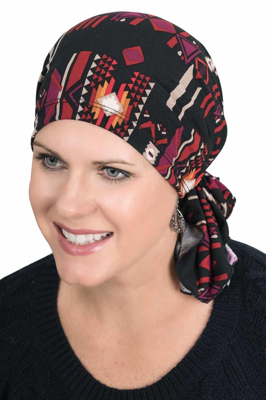 Slip On Slinky Headwrap Pre-Tied Head Scarf  1026ca76e233
