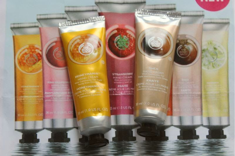 The Body Shop New Hand Cream Collection Review | The Sunday Girl