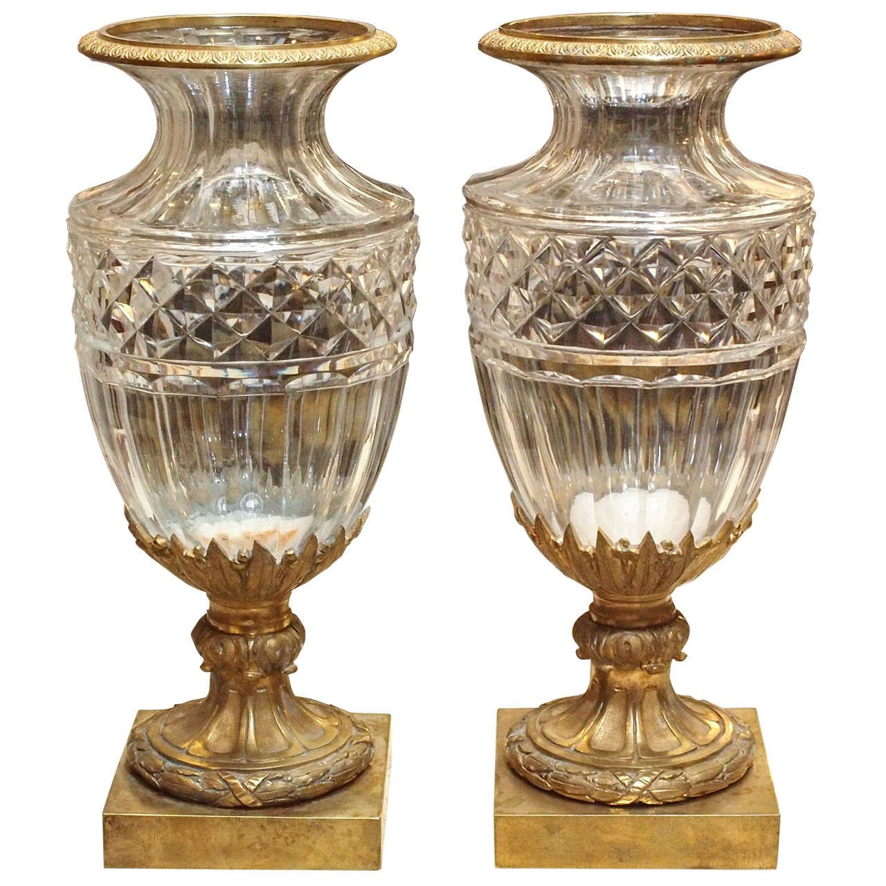 vases small crystal htm produits vase baccarat eye clear
