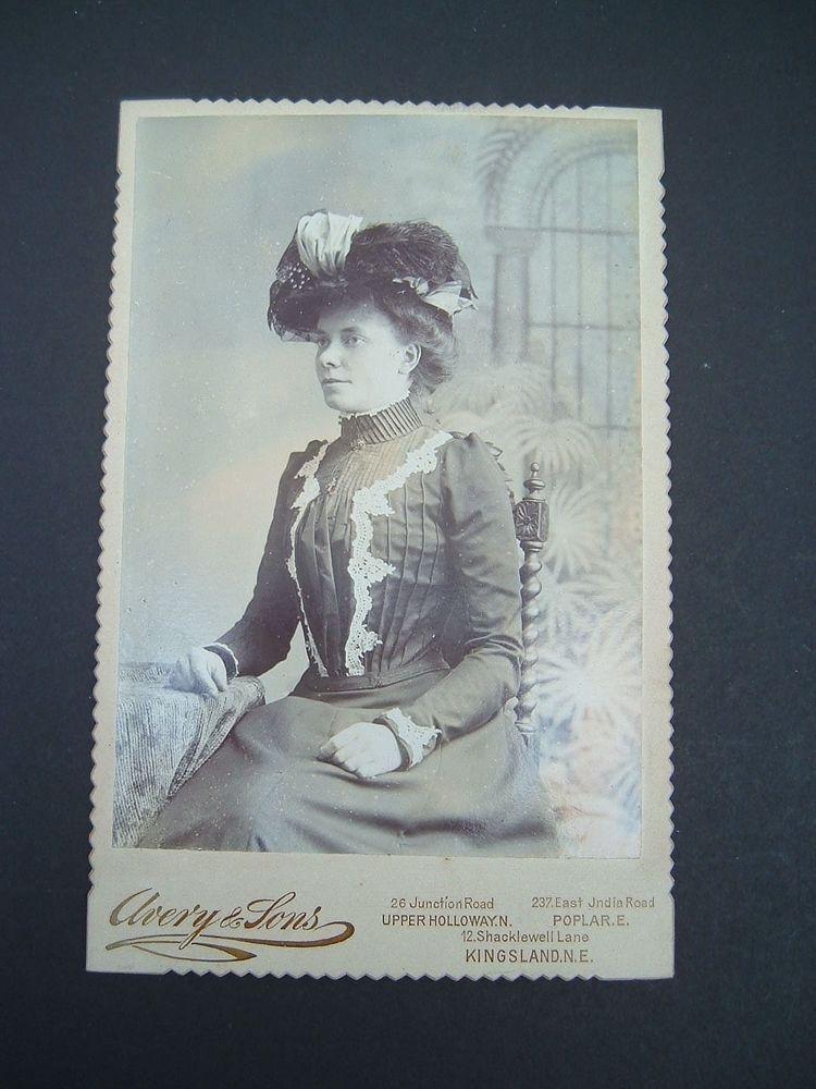 Victorian CDV Cabinet Card 6 5 x