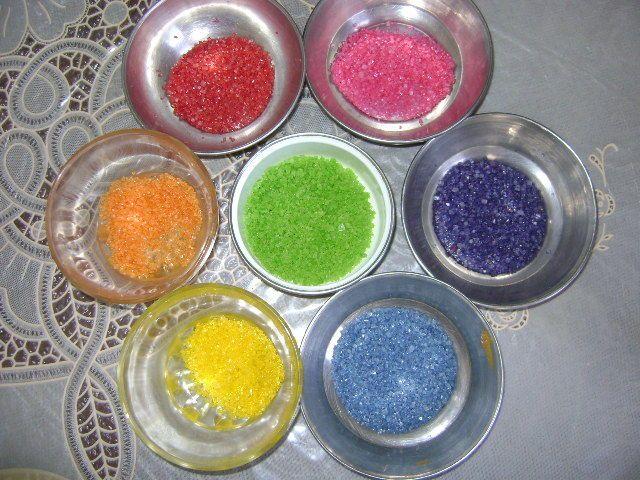 Make Your Own Colored Sugar | Sugar foods, Sugar crystals and Sugaring