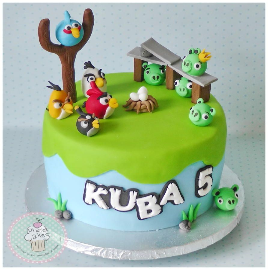Angry Birds Cake By Planetcakeshaverhill Angry Birds Pinterest
