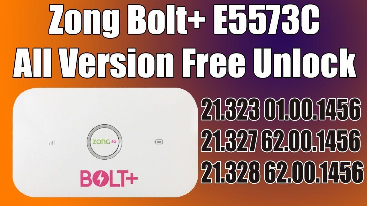 Free Unlock Huawei E5573Cs-322, Zong 21 328 62 00 1456 Unlock Done