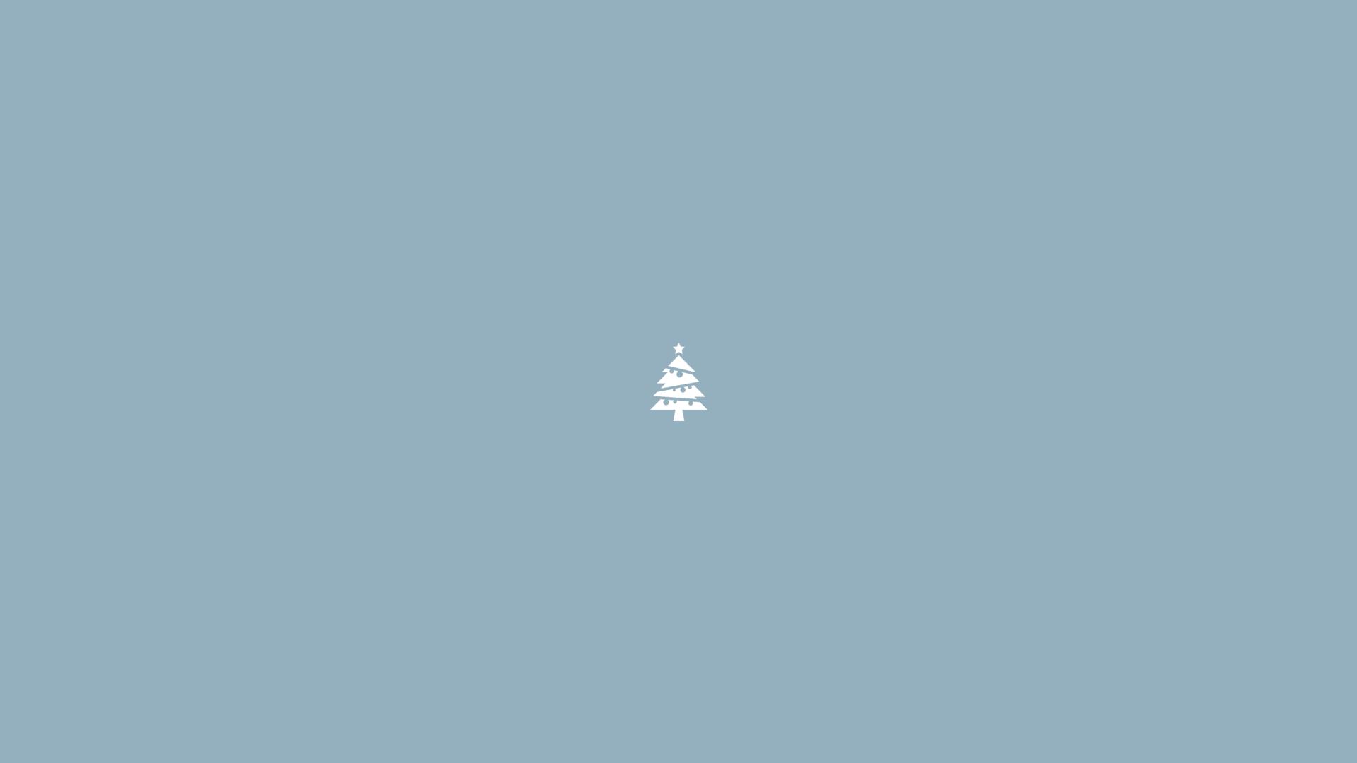 minimalist christmas tree wallpaper 1920x1080. Black Bedroom Furniture Sets. Home Design Ideas