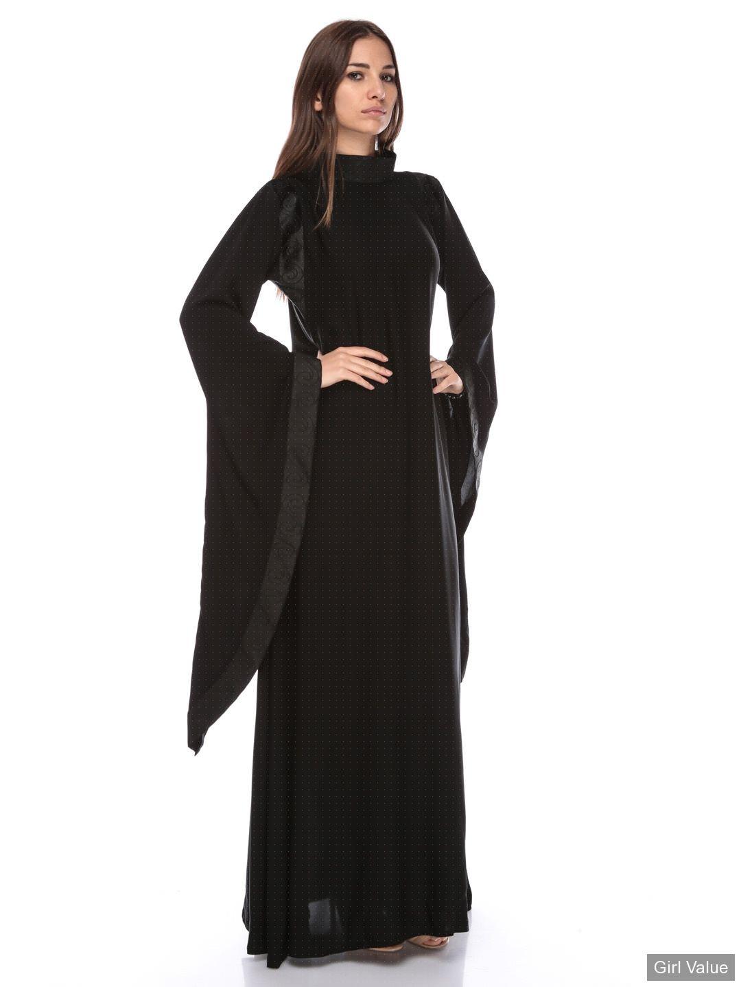 76790710ac3 Arab Girl in Black Arabic Kaftan Dress | Arabian Girl Photos ...