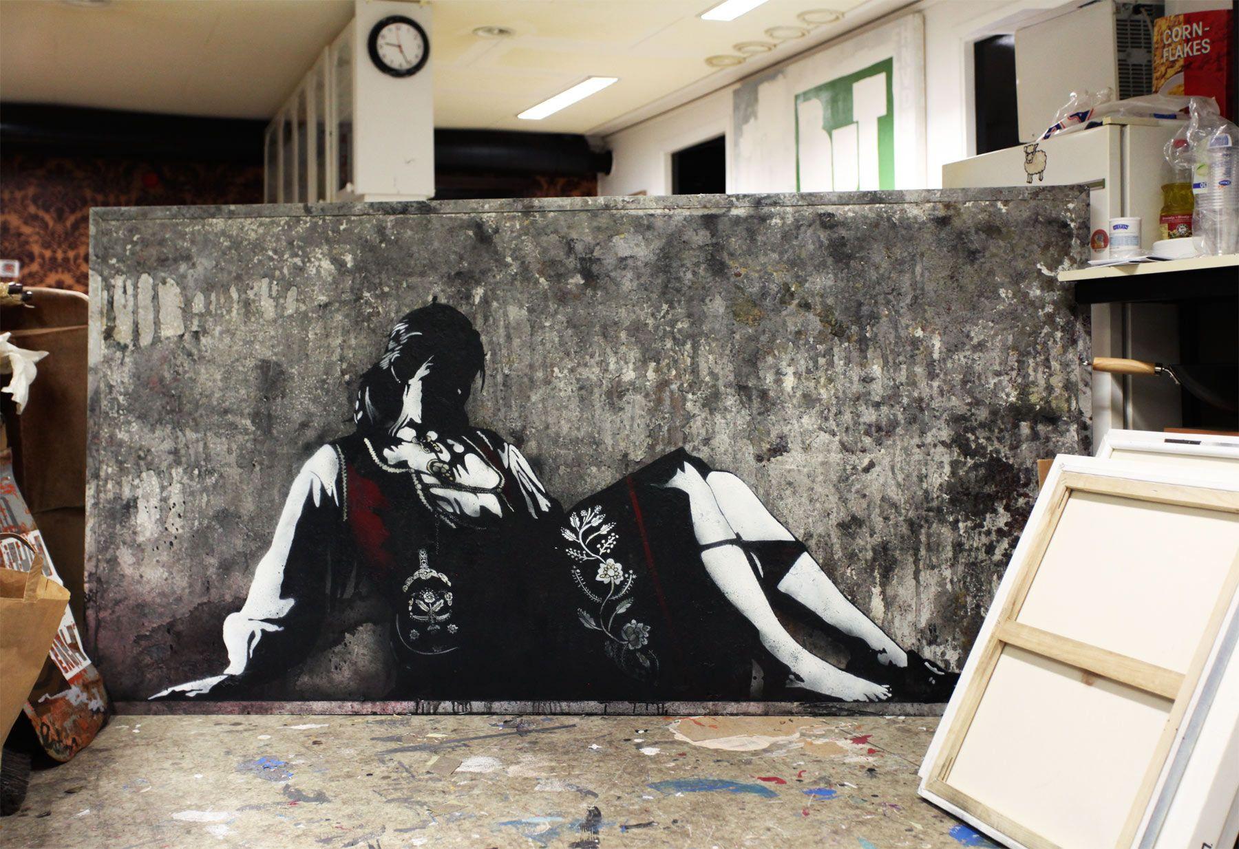 Pøbel.. . #streetart