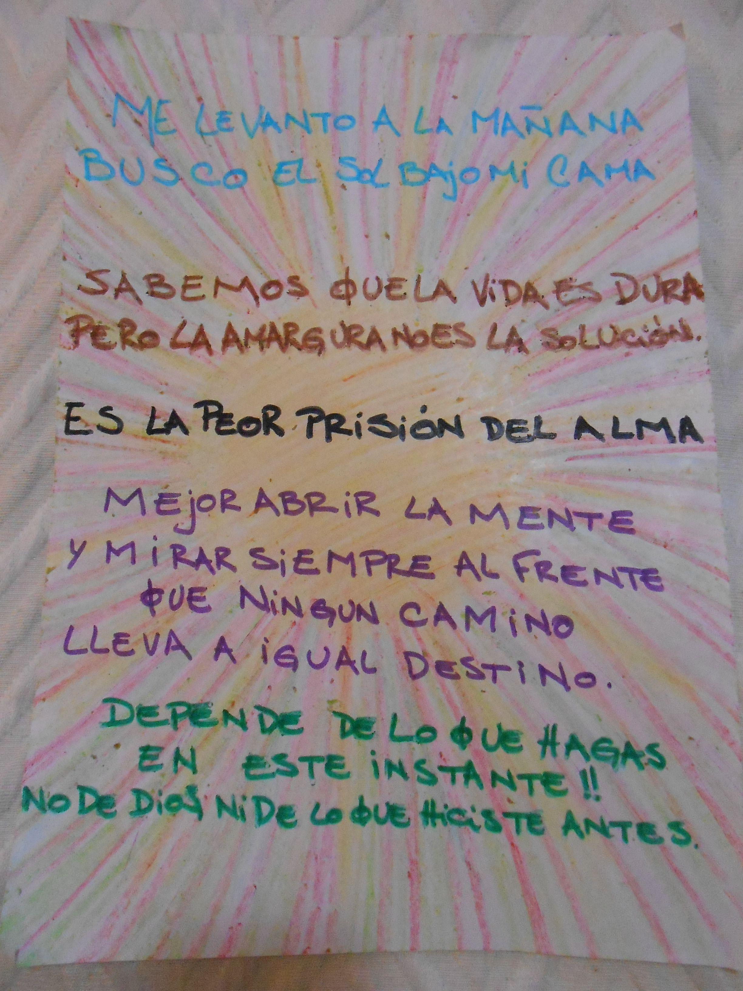 Mañana. La Vela Puerca. -Fibra, crayón   Frases de canciones, Hasta mañana,  Crayones