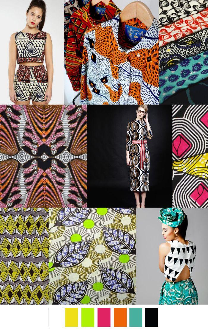 Seafoam Serene Colorful Fashion Pattern Fashion Forecasting